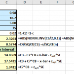 Single-sample, Large Sample Confidence Interval for a Mean